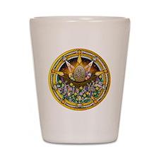 Ostara Pentacle Shot Glass