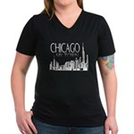 Chicago: My Kind Of Town Women's V-Neck Dark T-Shi