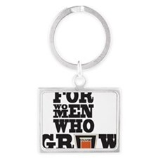 For Women Who Grow Landscape Keychain