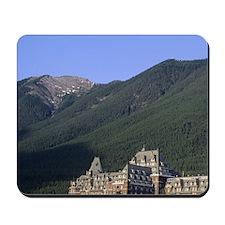 The Banff Springs Hotel in Banff, Albert Mousepad