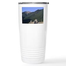 The Banff Springs Hotel in Banf Travel Mug