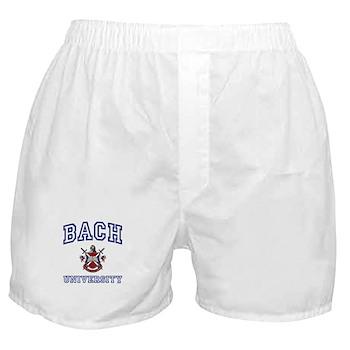 BACH University Boxer Shorts