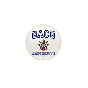 BACH University Mini Button