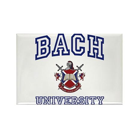 BACH University Rectangle Magnet