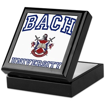 BACH University Keepsake Box