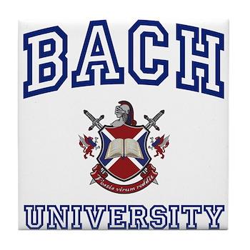 BACH University Tile Coaster
