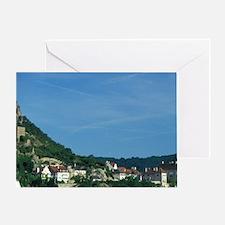 Danube River boat trip Greeting Card