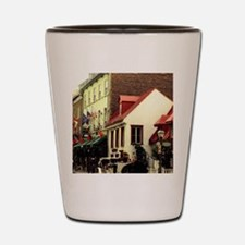Canada, Quebec, Old Quebec City Shot Glass