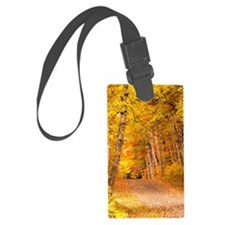 AutumnFoliageRural_Kindle Luggage Tag