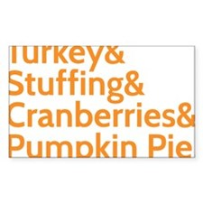 thanksgivingfood Decal