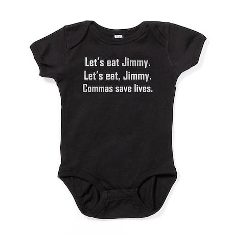 Commas Save Lives Baby Bodysuit
