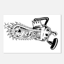Chainsaw shirtcleaned Postcards (Package of 8)