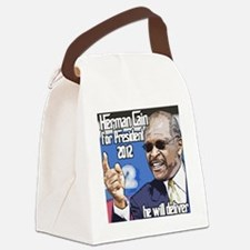 hermancaincolor Canvas Lunch Bag