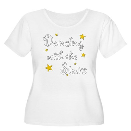 DWTS Women's Plus Size Scoop Neck T-Shirt