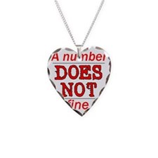 Number DOEs Not Necklace