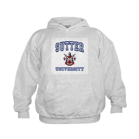 SUTTER University Kids Hoodie