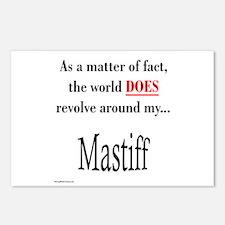 Mastiff World Postcards (Package of 8)