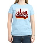 Retro Chicago Women's Light T-Shirt