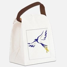 Bird of HOPE 4 a CURE - Kids Canc Canvas Lunch Bag