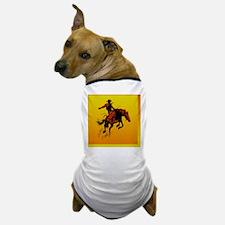 bronc-sq2 Dog T-Shirt