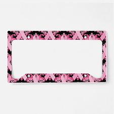 PinkRibHLLLPbLaptp License Plate Holder