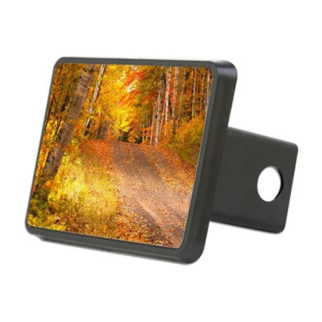 AutumnFoliageRural_9X12 Rectangular Hitch Cover