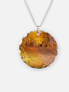 AutumnFoliageRural_9X12 Necklace
