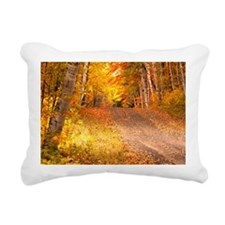 AutumnFoliageRural_9X12 Rectangular Canvas Pillow