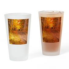 AutumnFoliageRural_9X12 Drinking Glass