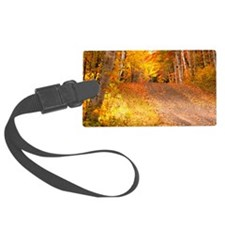 AutumnFoliageRural_9X12 Luggage Tag