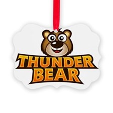 Thunder Bear Ornament