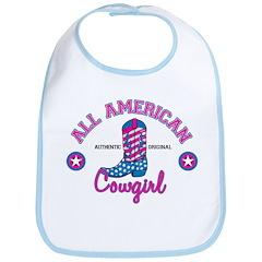 All American Cowgirl Bib