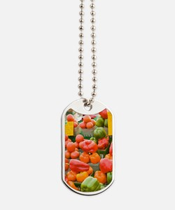 Produce at the By Market in Ottawa, Ontar Dog Tags