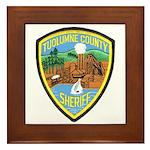 Tuolumne Sheriff Framed Tile