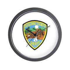 Tuolumne Sheriff Wall Clock