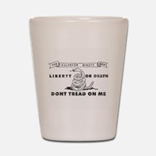 Liberty or Death Shot Glass