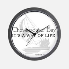 chesapeake bay way of life Wall Clock