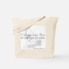 chesapeake bay way of life Tote Bag