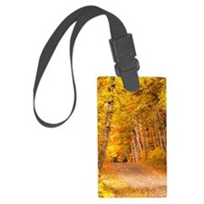 AutumnFoliageRural_10X14 Luggage Tag