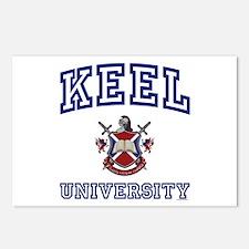 KEEL University Postcards (Package of 8)