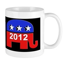Republicain Sticker Mug