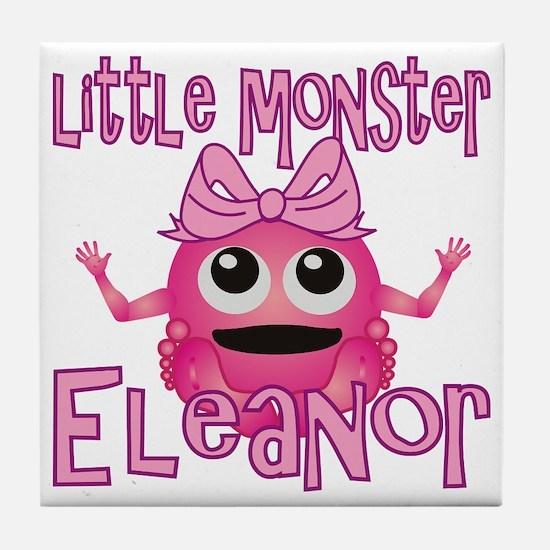 eleanor-g-monster Tile Coaster