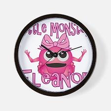 eleanor-g-monster Wall Clock