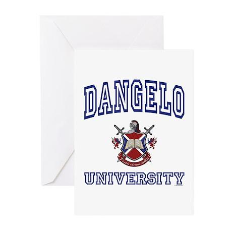 DANGELO University Greeting Cards (Pk of 10)