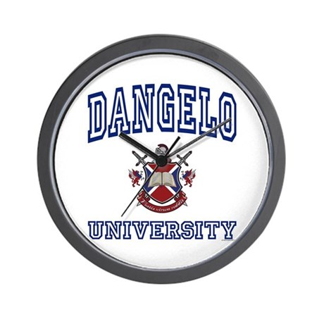 DANGELO University Wall Clock