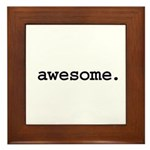 awesome. Framed Tile
