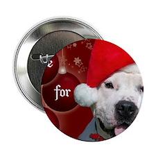 "PEACE Christmas Card Outside Final Fi 2.25"" Button"