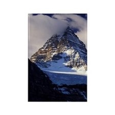 Mount Assiniboine. Fall colors Co Rectangle Magnet