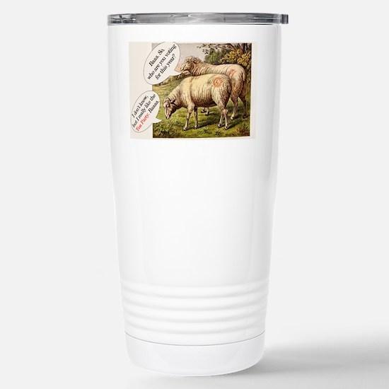 SheepSQ Stainless Steel Travel Mug