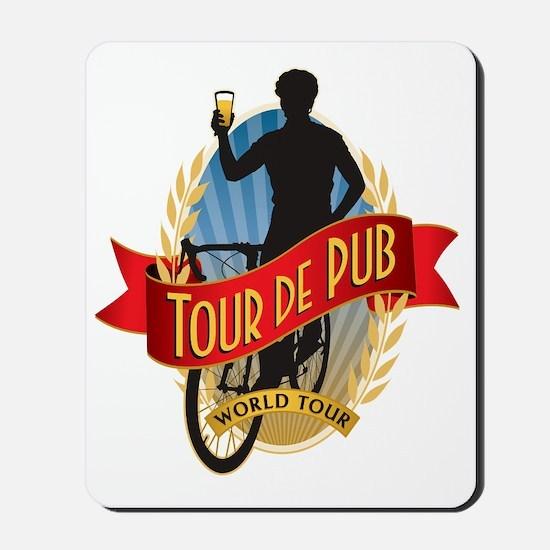 tour de pub Mousepad